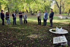 Anna Marossy, comemorată în rezervaţia Peţea, din care a mai rămas doar o băltoacă (FOTO)