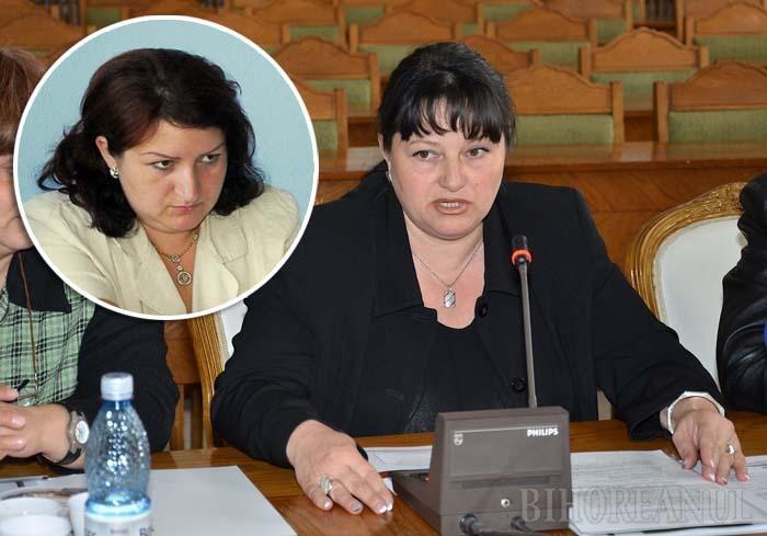 LA MUNCĂ. Dacă fosta juristă a Inspectoratului Şcolar Bihor, Ramona Bacter (stânga), a avansat în carieră, fosta directoare a Colegiului Şaguna, Antiana Lung (dreapta), a ajuns să îngrijească bătrâni în străinătate