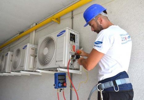 Alegeţi la rece! Căldura extremă din această vară i-a determinat pe bihoreni să ia cu asalt firmele specializate în sisteme de climatizare
