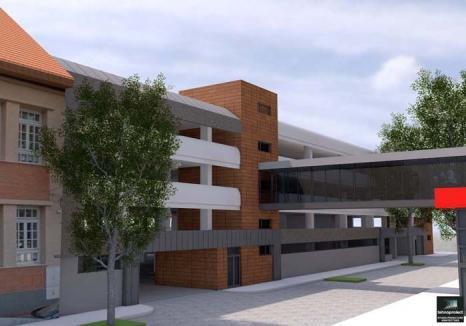 Voinţă de parcare: Primăria Oradea va construi, în centru, patru parcări supraetajate