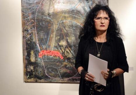 Noua preşedintă a Uniunii Artiştilor Plastici, Vioara Bara, vrea să 'dezmorţească' artiştii: 'Trebuie să-i învăţăm pe orădeni să ne iubească'