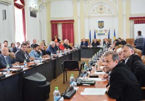 Politicieni de 2 bani: Puşi să gândească un proiect de 9,5 milioane euro pentru modernizarea sistemului sanitar, aleşii bihorenilor au dat-o-n bară!