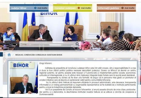 Vorbe goale! Deşi se pretind mari promotori ai transparenţei, şefii CJ Bihor refuză să publice pe site cheltuielile instituţiei