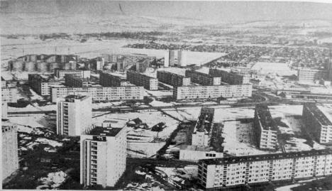 Oraşul din oraş: Rogerius, cel mai mare cartier din Oradea, de la o întindere de case modeste la labirintul de blocuri comuniste (FOTO)
