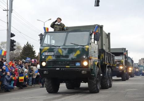 """Oradea nu are paradă militară de 1 Decembrie anul acesta. Explicația prefectului: """"N-a fost timp de organizare"""""""