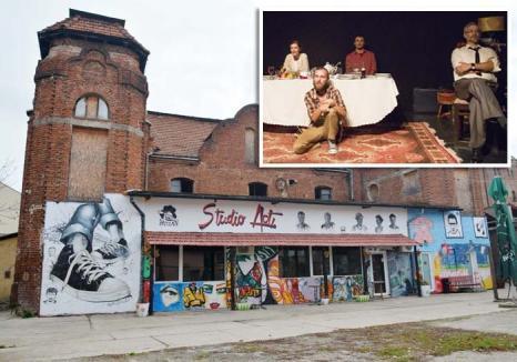 Templul teatrului: Trei spectacole oferite de trupa de teatru independentă Studio Act într-o sinagogă abandonată