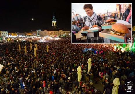 Festival cu delicii: Toamna Orădeană va prilejui concerte de top şi un uriaş festin colectiv, în Piaţa Unirii şi în Cetate