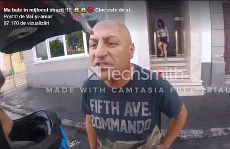 Proxenetul cel nervos: Un patron celebru de bordel s-a luat la harţă în trafic (VIDEO)
