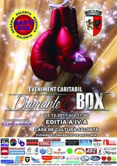 'Diamante şi Box': Iubitorii sportului sunt invitați la box în scop caritabil, sâmbătă, la Salonta