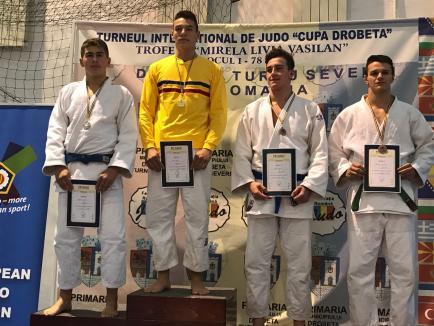 Orădeanul Alex George Creț, locul 9 la Cupa Europeană de judo pentru cadeți din Italia