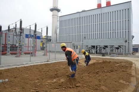 (În)CET pe gaz: Noua termocentrală a Oradiei va fi dată în folosinţă cu două luni întârziere (FOTO)