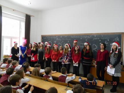Crăciun fără granițe la Facultatea de Litere și Liceul Don Orione