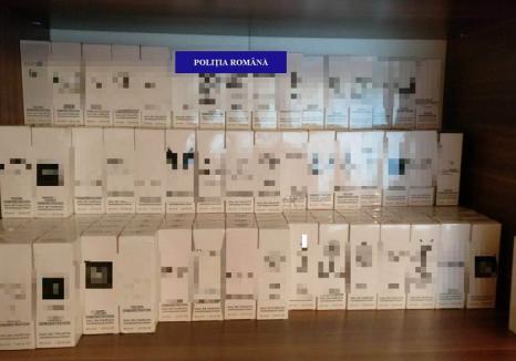 Percheziţii la un contrabandist de parfumuri contrafăcute: produse de peste 77.000 lei au fost confiscate