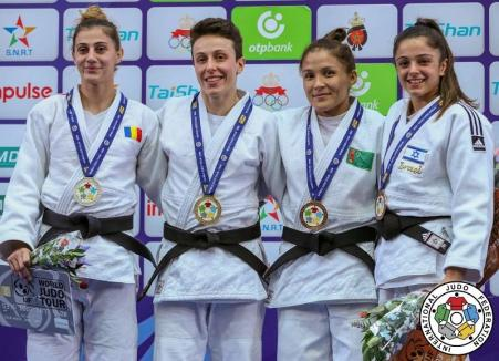 Larisa Florian s-a situat pe locul II la Grand Prix-ul de judo din Maroc