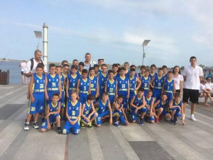 Sala LPS Bihorul găzduiește primul turneu de calificare la Campionatul Național de baschet U13