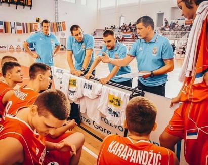 Antrenorul sârb Zoran Vranes, de la Academia CSM Oradea, medaliat cu bronz la  Campionatul European U16