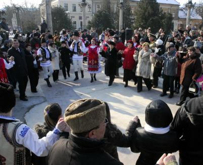 Oradea, în Hora Unirii (FOTO)