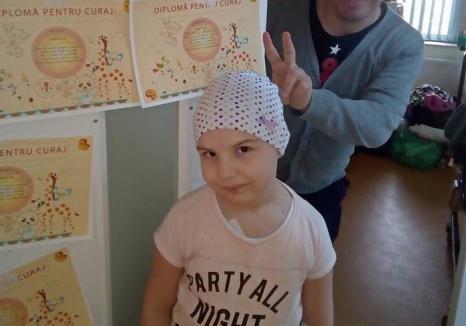 Donaţi sânge! Abigail, o fetiţă de 7 ani din Sîntandrei, are nevoie URGENTĂ de ajutor