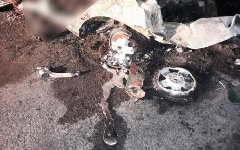 Accident groaznic în Suceava: Cinci tineri care se întorceau de la o petrecere de Halloween au murit carbonizaţi (FOTO)