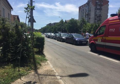 Tamponare în lanţ în Cantemir: doi copii răniţi, 4 maşini buşite