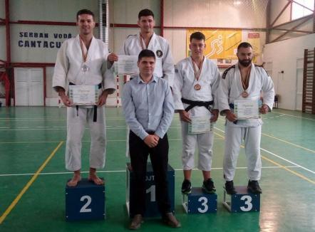 Pompierul orădean Adrian Bogoşel este vicecampion naţional la judo