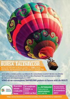Start la Bursa Talentelor: Fundaţia Comunitară Oradea acordă 4.500 de lei celor care vor să dezvolte proiecte de impact pentru comunitate