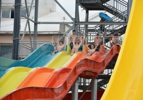 ADP avertizează: Nu răspundem de copiii nesupravegheați în aquapark!