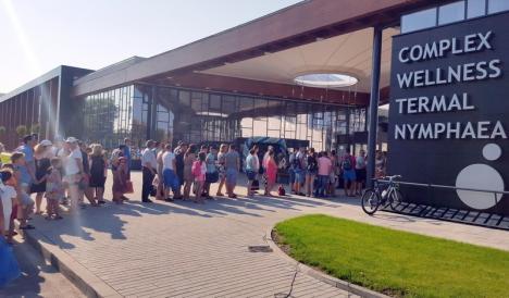 Aquapark-ul din Oradea a încheiat primul an cu un milion de euro profit!