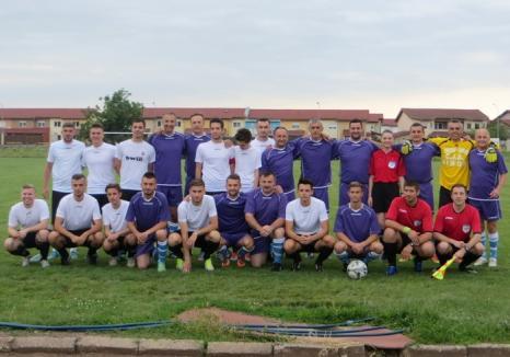 Arbitrii bihoreni s-au 'duelat' la fotbal