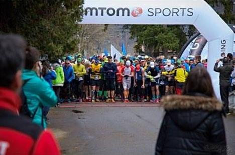 Atletul orădean Călin Laza, locul II la  concursul internațional de alergare montană de la Șuncuiuș (FOTO)