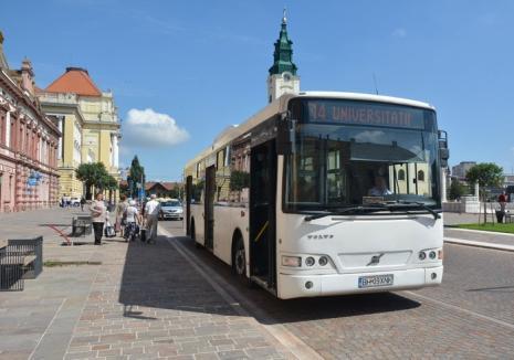 Cum vor circula tramvaiele şi autobuzele în minivacanţa de Sfânta Maria