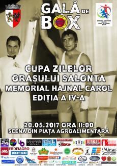 Memorialul Carol Hajnal la box, sâmbătă, la Cupa Zilele oraşului Salonta