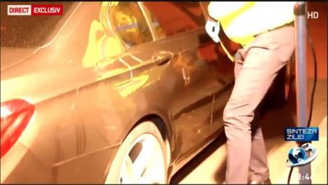 Deputat PSD, anchetat pentru vătămare corporală, după ce a lovit cu maşina doi protestatari (VIDEO)