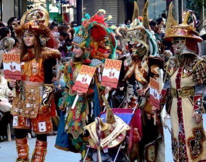 Carnaval medieval la Gyula