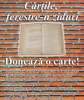 Donaţi cărţi pentru bibliotecile de la sate!
