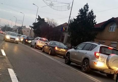 Un accident a paralizat circulaţia în Cantemir: Un pieton care a traversat prin loc interzis a fost izbit de un BMW