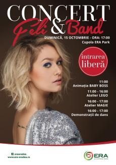 Festivalul Familiei reînvie, la ERA Park: Concert Feli, ateliere de magie şi demonstraţii de dans, în weekend!