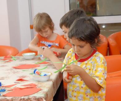 Dulciuri pentru copii creativi la Orăşelul Copiilor