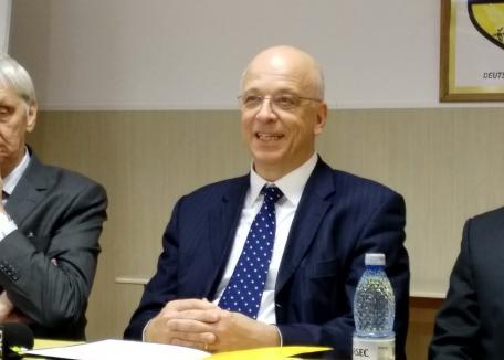 Ambasadorul Cord Meier-Klodt promovează la Oradea şcolile de meserii: 'Succesul economic al Germaniei se bazează pe acestea' (FOTO)