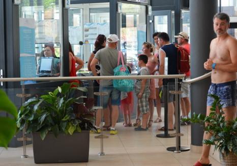ADP vrea să elimine cozile la aquapark prin vânzarea biletelor online şi eliminarea tichetelor de 3 ore în weekend-uri şi de sărbători