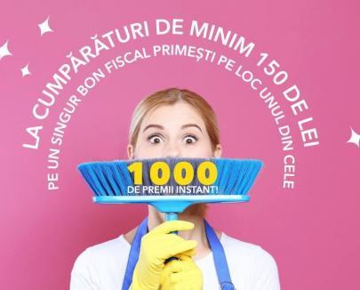 Începe curățenia de primăvară, la ERA Park Oradea: 1000 de premii instant!
