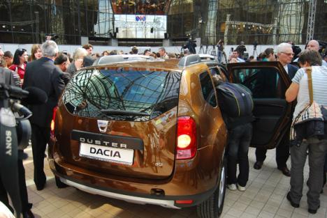Dacia Duster a ajuns şi în România