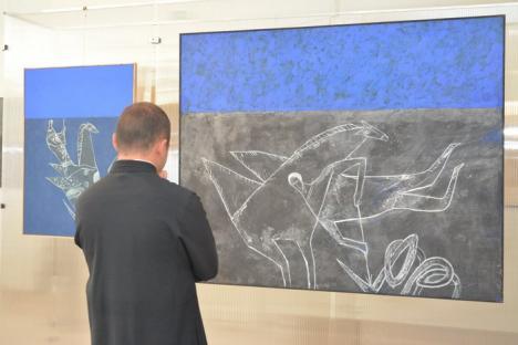 Noul Muzeu al Ţării Crişurilor a fost deschis, cu expoziţii temporare, după 'lupte' de peste 10 ani (FOTO/VIDEO)