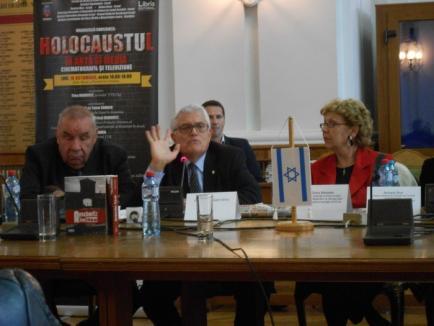 Holocaustul evreilor, în 'artă şi media', a fost dezbătut la Primăria Oradea (FOTO)