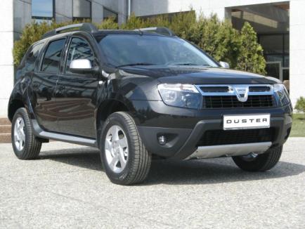 Primele reclame la Dacia Duster apar în Franţa şi Germania (VIDEO)