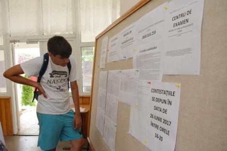 Evaluarea Naţională: 72% dintre elevii bihoreni au promovat examenul (FOTO)