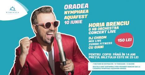 Horia Brenciu concertează la Aquapark. Ți-ai luat bilet? (VIDEO)