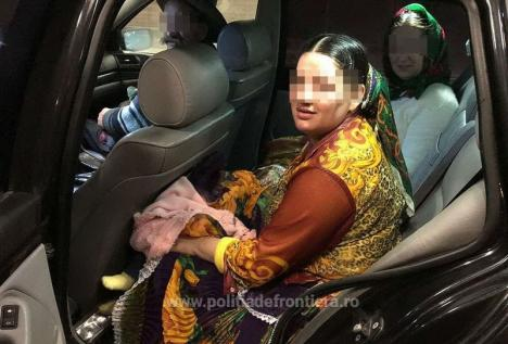 O tânără şi-a ascuns bebeluşul sub fustă încercând să-l scoată ilegal din ţară prin Borş (FOTO)