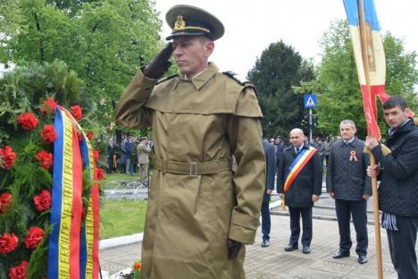 Eliberarea Oradiei: 98 de ani de administraţie românească, sărbătoriţi cu defilare pe lapoviţă (FOTO/VIDEO)