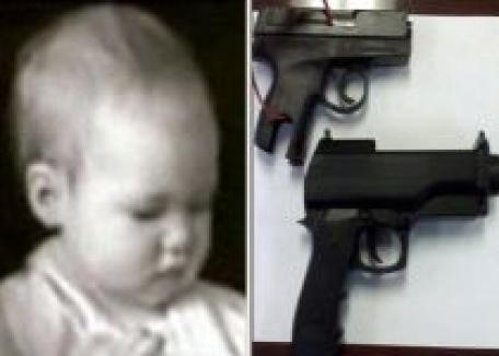 Copilul s-a împuşcat singur